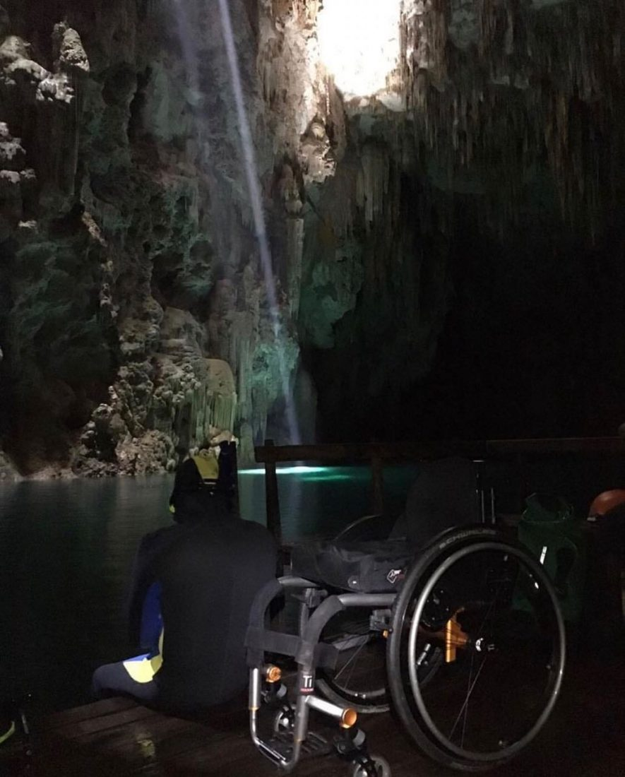 Acessibilidade no turismo: a experiência de um cadeirante que visitou o Abismo Anhumas