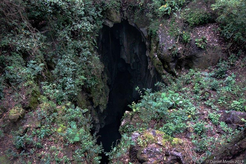 Vista aérea da entrada do Abismo Anhumas @Daniel Menin