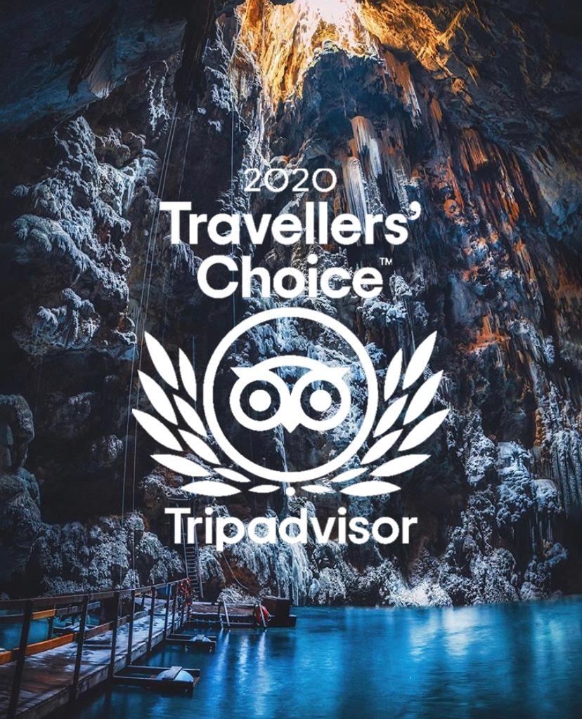 Abismo Anhumas recebe selo Travellers' Choice 2020 do Tripadvisor